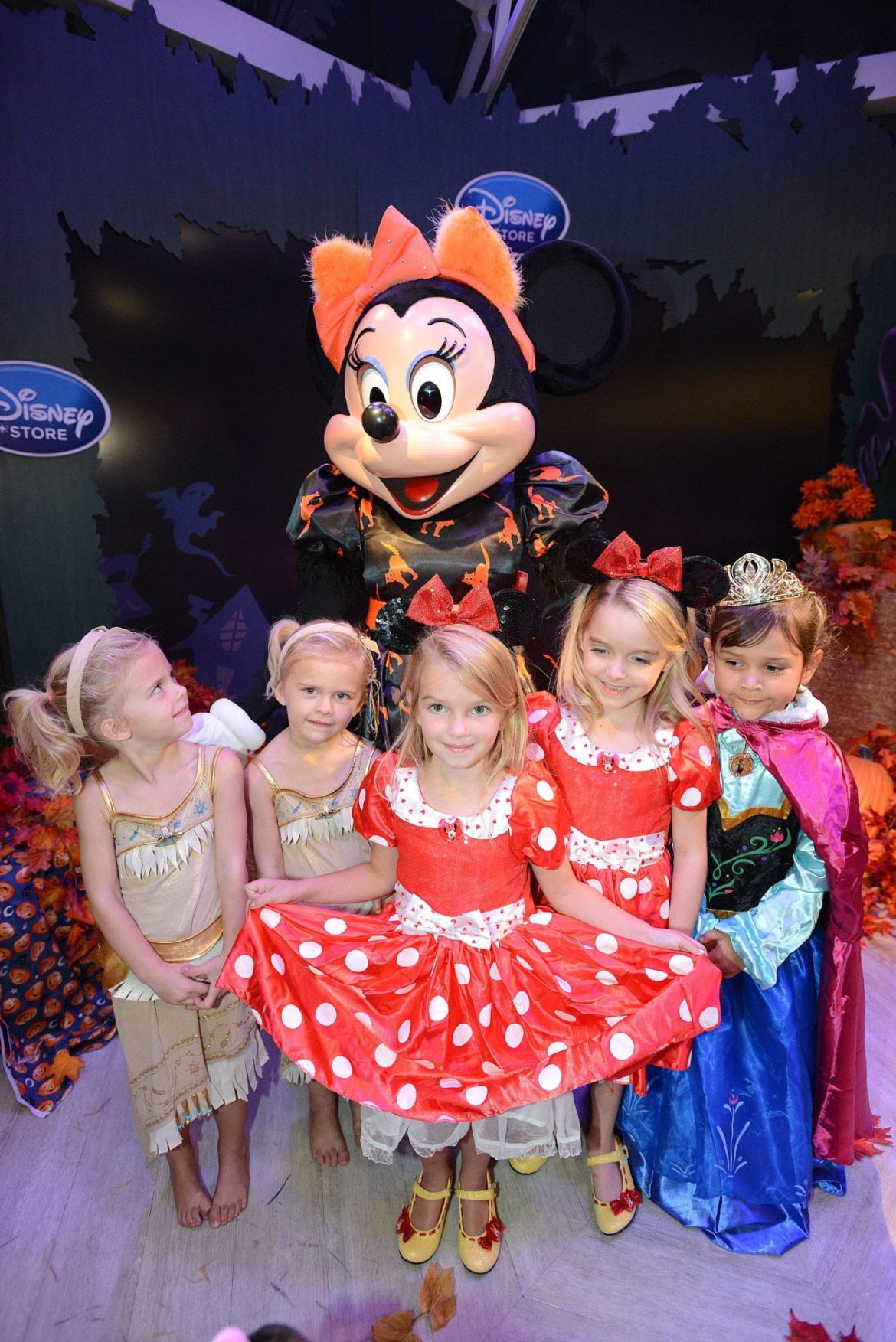 Celebrity Spotting at the Disney Store Halloween Bootique