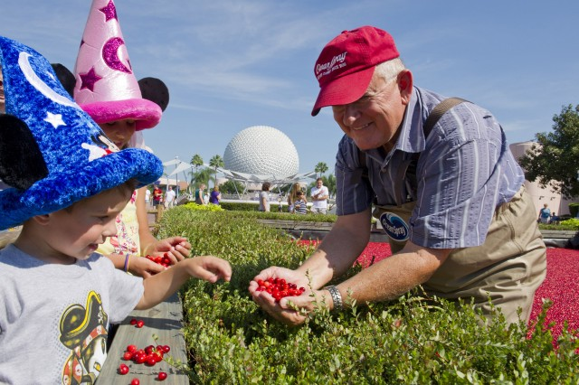 Ocean Spray Treats Epcot Guests to Some Cranberry Goodness