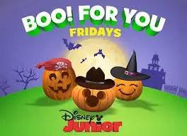Disney Junior Celebrates Halloween