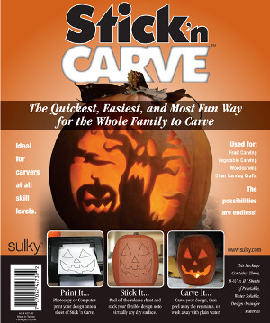 Stick 'n Carve is the first truly new Halloween innovation