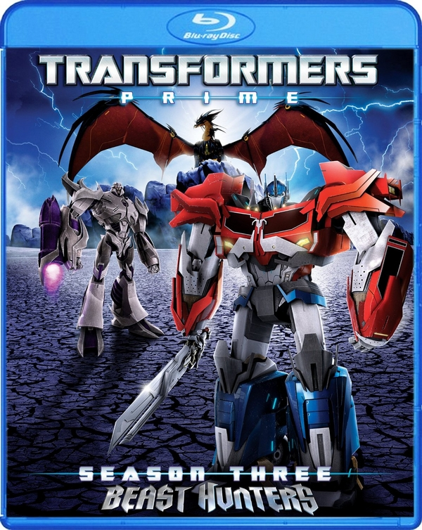 Third and Final Transformers Prime on 2 Disc Blu Ray and Deluxe 2 DVD Set