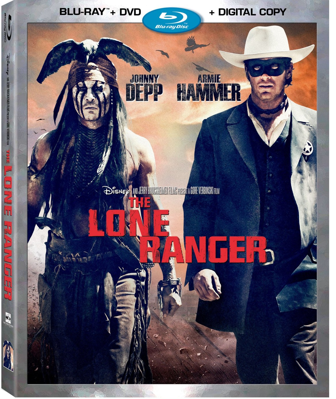"Disney's ""The Lone Ranger"" Blu-Ray Review"