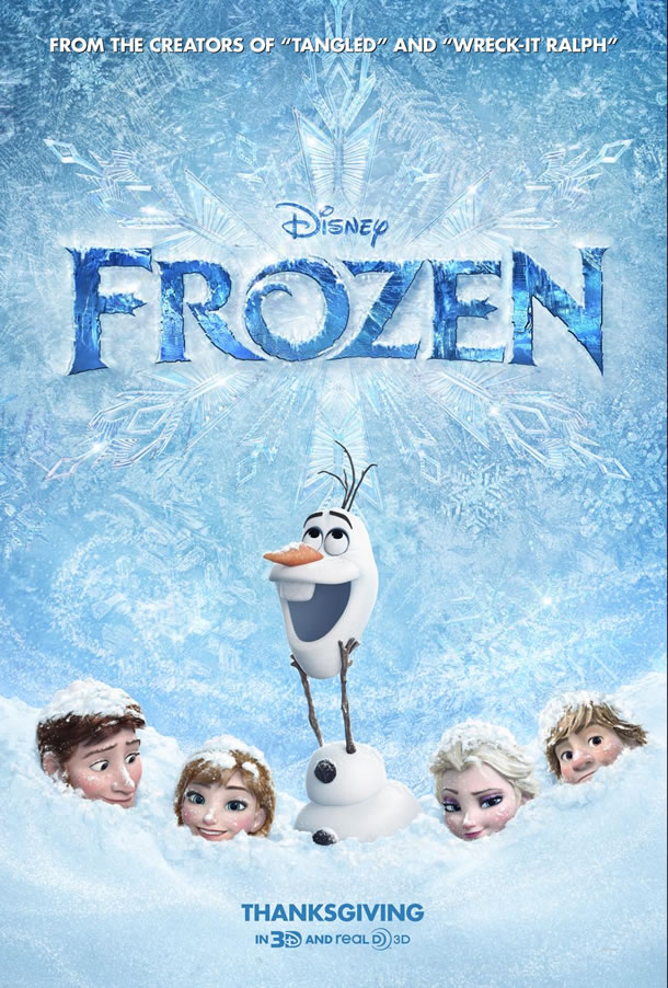 Kids of all ages love Disney's FROZEN