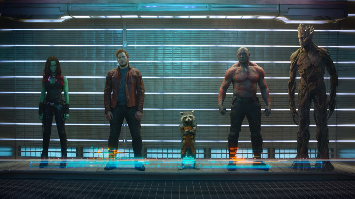Marvel Unveils First Look at 'Guardians of the Galaxy'