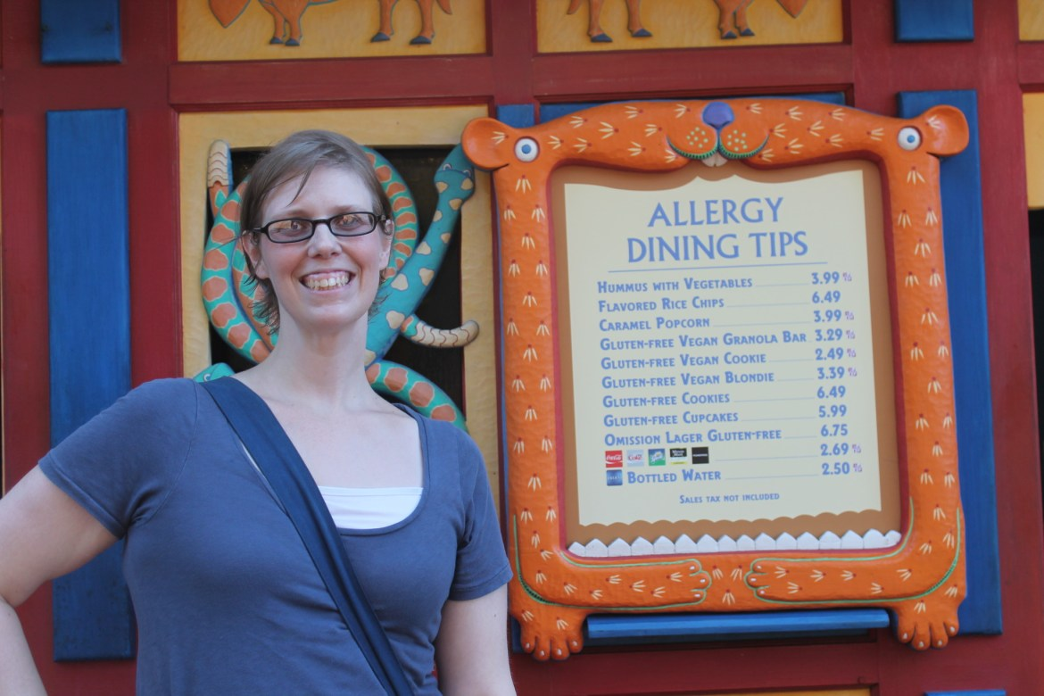 Food Allergy Info from Gluten Free & Dairy Free at WDW