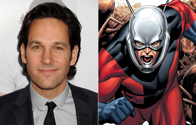 Paul Rudd Set to Star in Marvel's 'Ant-Man'