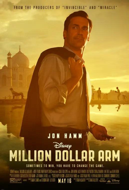 Walt Disney Pictures Releases Video Trailer of Million Dollar Arm