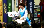 Princess Belle Reads to Preschoolers