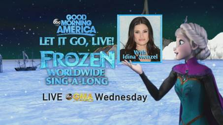 """""""Let it Go"""" Live Nationwide Sing Along"""