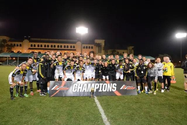 Columbus Crew Claim 2014 Walt Disney World Pro Soccer Classic Title