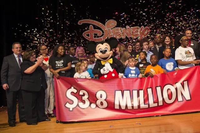 Disney World Resort Gives $3.8 Million in Grants