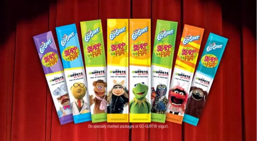 "Go-Gurt is Celebrating Disney's ""Muppets Most Wanted"""