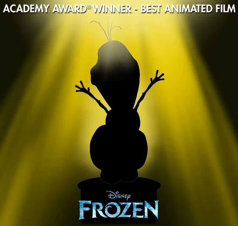 """""""Frozen"""" Wins for Best Animated Feature"""