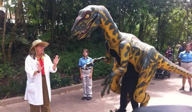 See Live Dinosaurs at Animal Kingdom