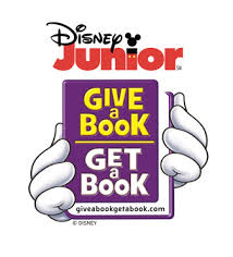 """Disney Junior """"Give a Book Get a Book"""" Donates to Communities in Need"""