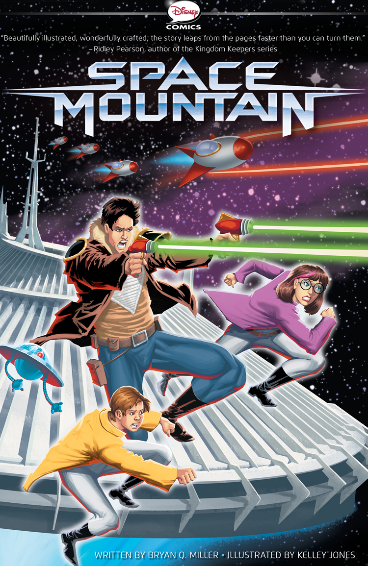 Space Mountain A Graphic Novel Review!