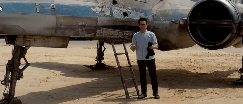 J.J. Abrams Offers Fans The Chance To Win A Private Hometown Screening Of Star Wars: Episode VII Before It Hits Theaters
