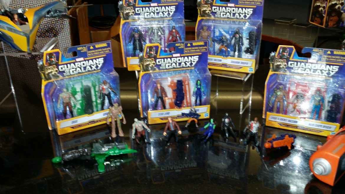 Marvel's Guardians of the Galaxy Merchandise by Hasbro