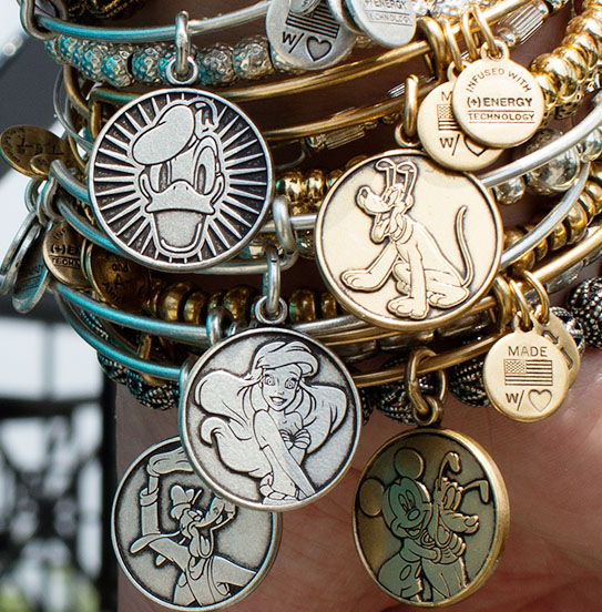 More New Alex and Ani Bangles Coming to Disney Parks