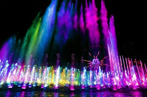 World of Color California Adventure