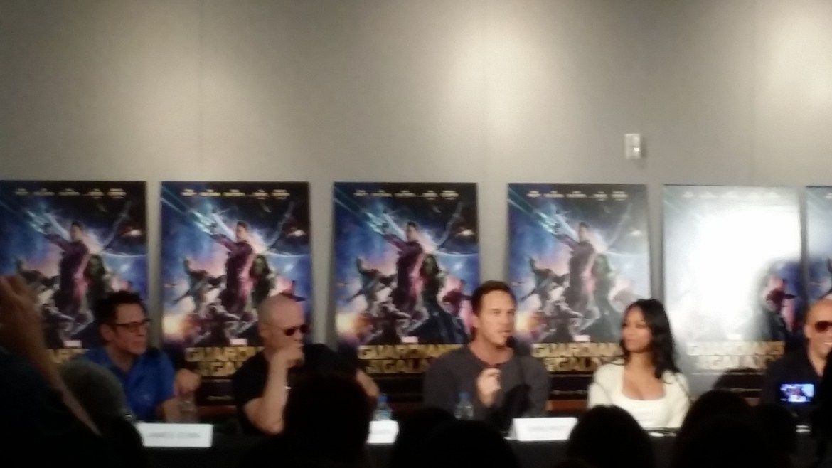 Guardians of the Galaxy Press Conference