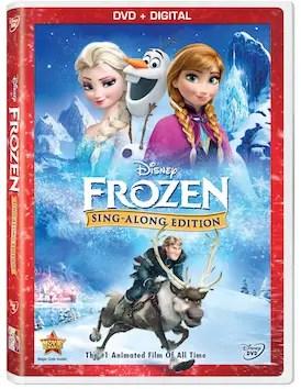 New Disney's Frozen Sing-Along Edition DVD Arriving Nov 18th