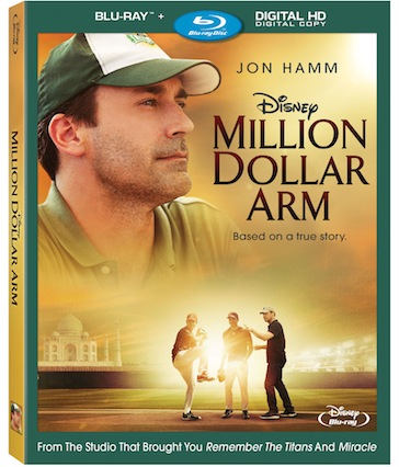 """Million Dollar Arm"" Coming to Blu-ray™, DVD and Digital HD October 7th."