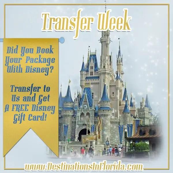 Disney Gift Card Transfer Week – Get a FREE Disney Gift Card!