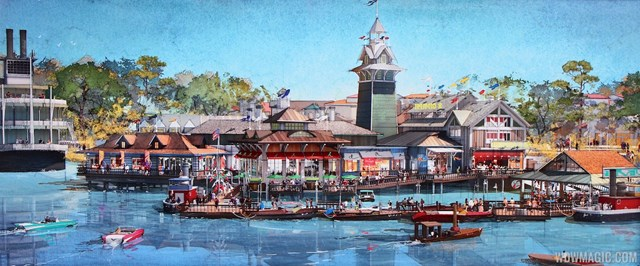 The Boathouse Restaurant – Coming Soon Disney Springs 2015