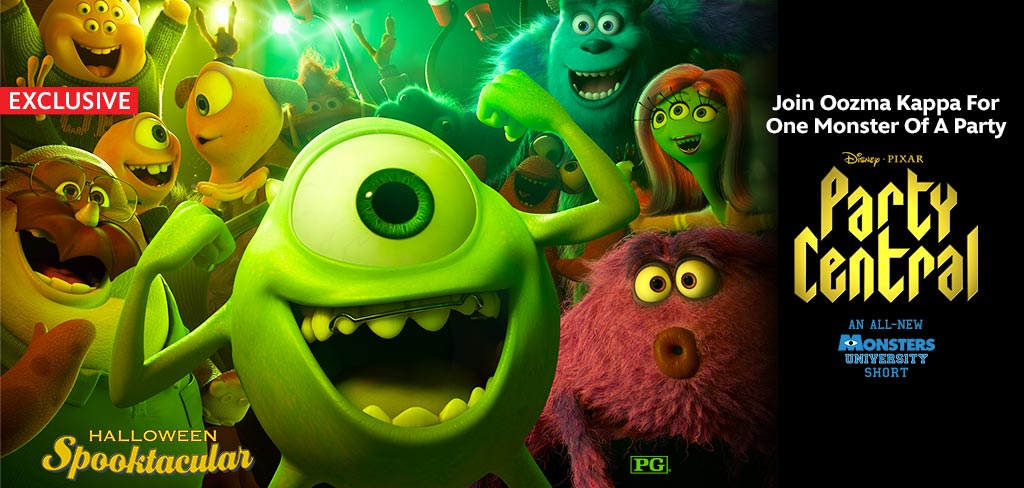 Monsters University Invites You to PARTY CENTRAL