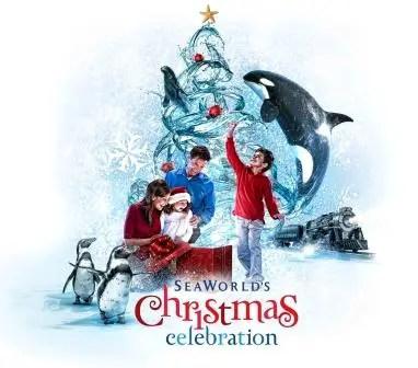 Seaworld's Christmas Celebration-November 22 through December 31, 2014