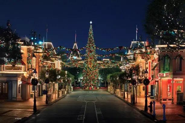 See the Christmas Trees of the Disneyland Resort