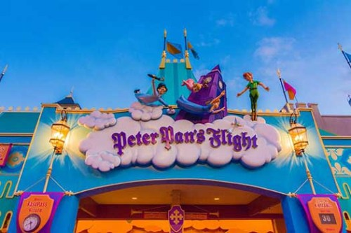 Peter Pan's Flight Getting a Fresh Look In Early 2019