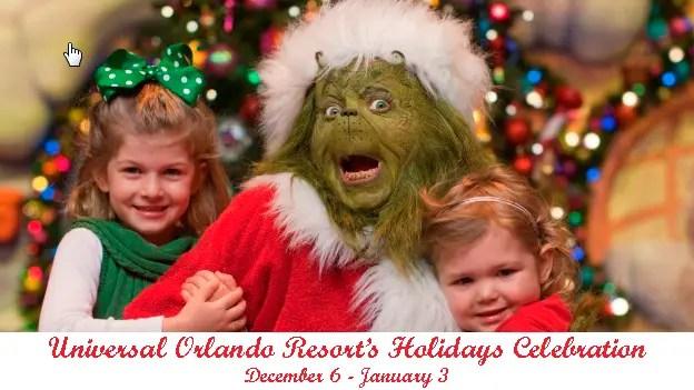 Spending the Holidays at Universal Studios Orlando