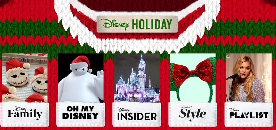 Check Out Disney.com for Some Christmas Cheer