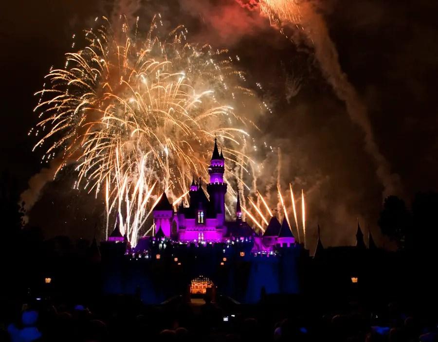 Celebrating New Year's Eve at Disneyland