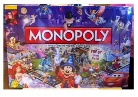 Disney Theme Park Edition Monopoly Games