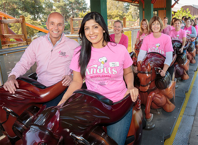 """Second Year of """"Knott's Berry Farm for the Cure"""" Campaign"""