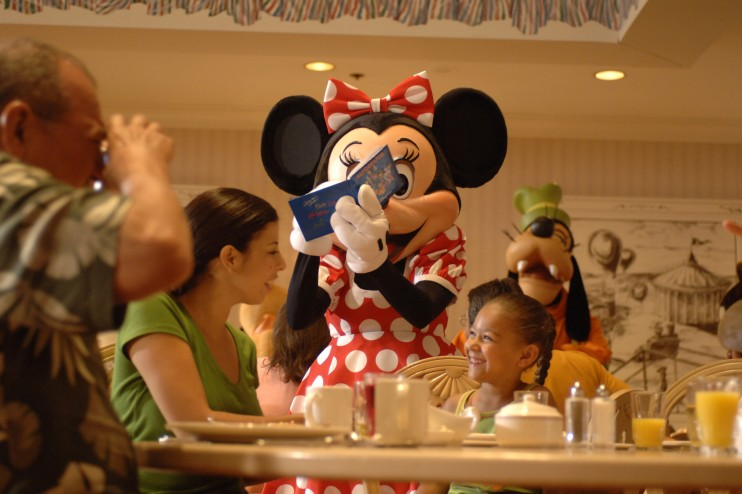 Top 5 Character Meals at Walt Disney World