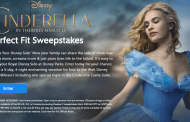 Win a night in Cinderella's Castle with Disney's Perfect Fit Sweepstakes