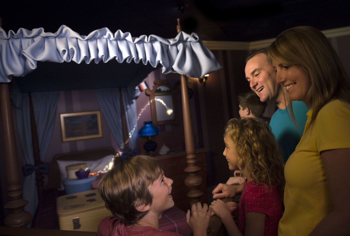 Fly Through the New Interactive Queue at Peter Pan's Flight