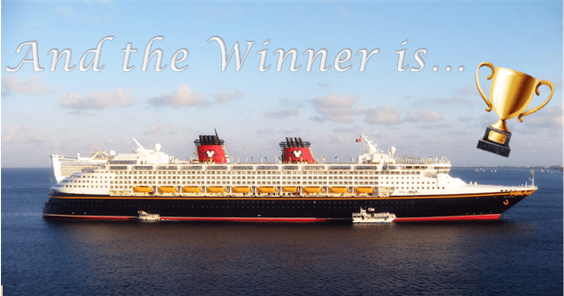 And the Award goes to…. Disney Cruise Line!