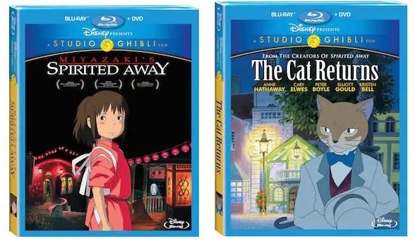 Disney Presents: Studio Ghibli: Spirited Away & The Cat Returns on Blu-ray 6/16