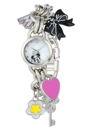 Disney Finds – Minnie Mouse Mother of Pearl Watch/Bracelet