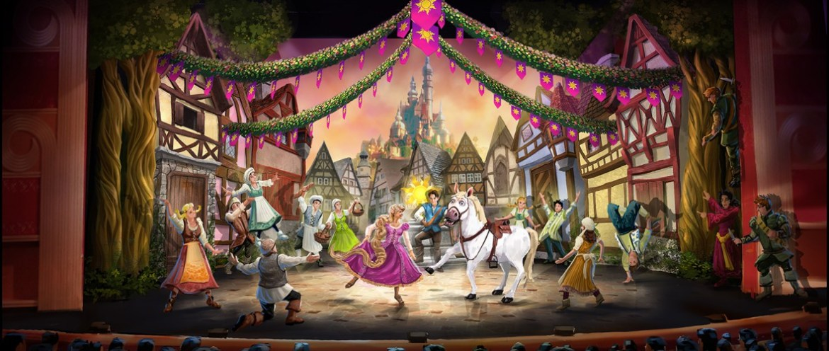 """""""Tangled: The Musical"""" Stage Show Aboard Disney Cruise Line"""