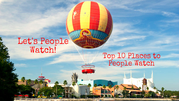 Top 10 Places to People Watch in Disney World