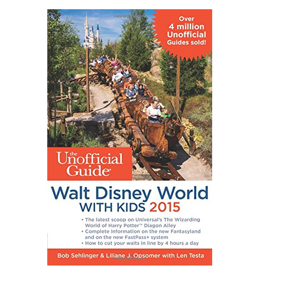 Disney Finds – Unofficial Guide to Walt Disney World with Kids 2015