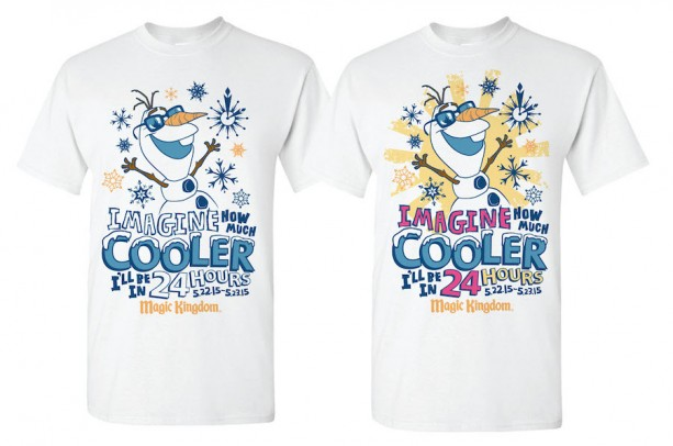 """""""Coolest Summer Ever"""" Shirt and Cupcake Coming to the WDW 24 Hour Event"""