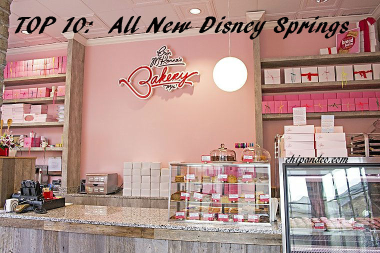 Top 10 Places I'm Looking Forward To at The All New Disney Springs