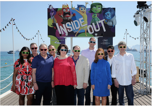 68th Annual Cannes Film Festival Premieres Inside Out